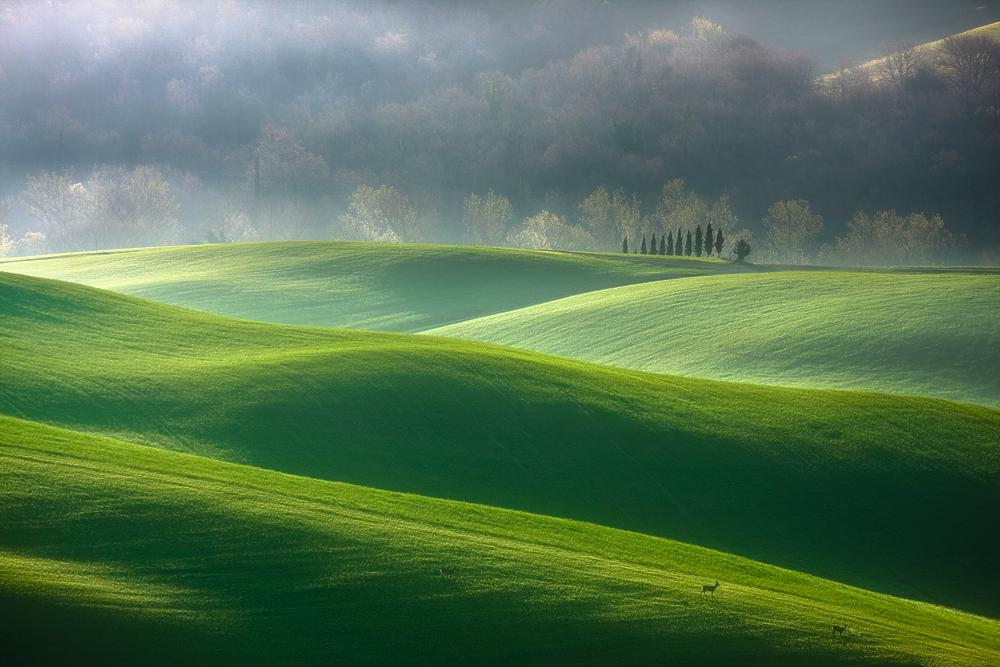 ファンタジーの世界のような自然風景写真6