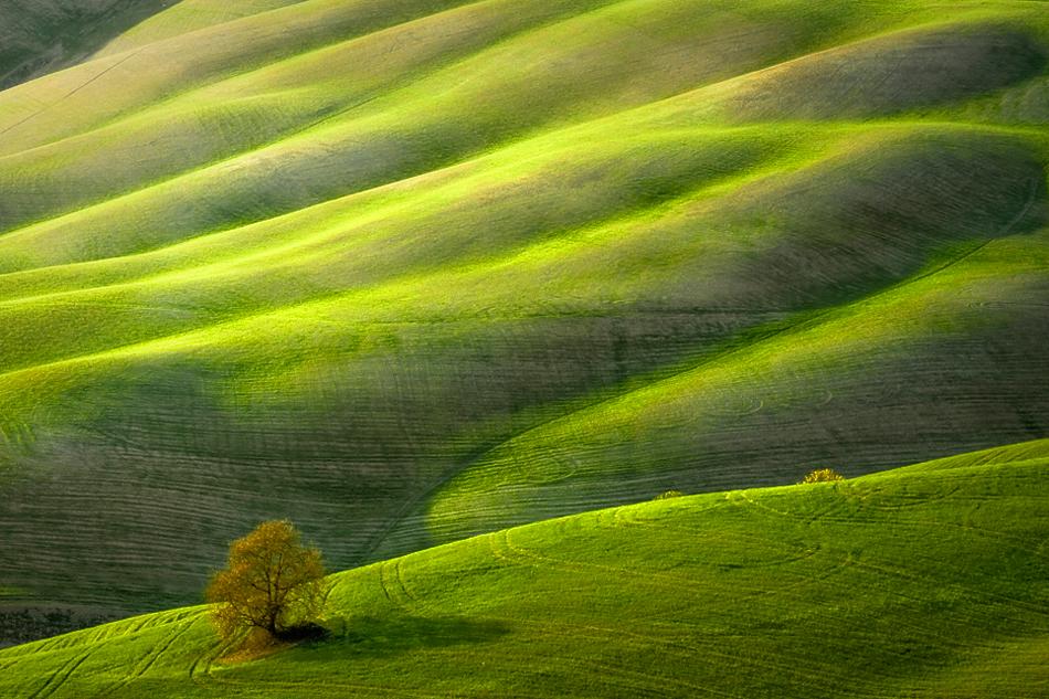 ファンタジーの世界のような自然風景写真5