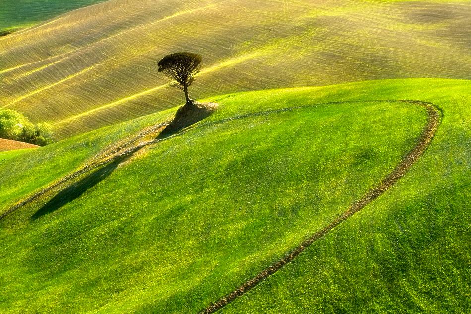 ファンタジーの世界のような自然風景写真3