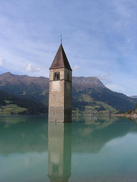 レジア湖の水の塔1
