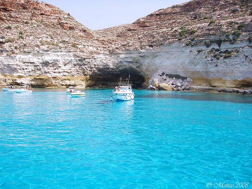 地中海に浮かぶ島ランペドゥーザ島3