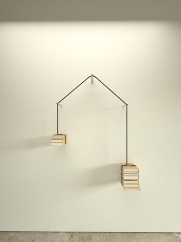 未読と既読のバランスをとる本棚