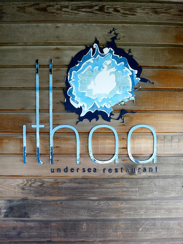海中レストラン Ithaa Undersea7
