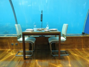海中レストラン Ithaa Undersea9