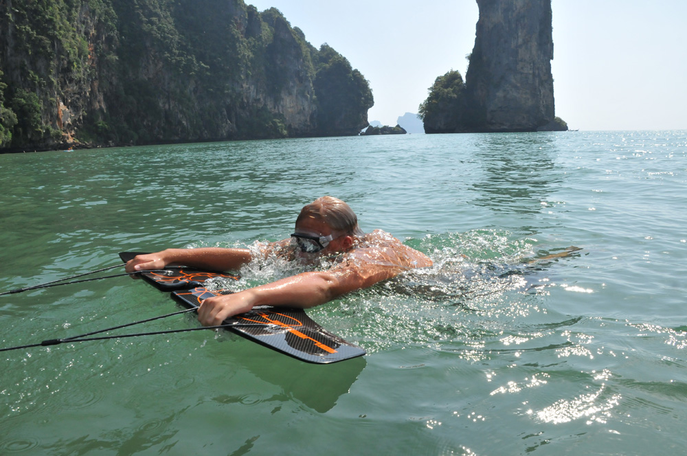 水の中のウェイクボード、サブウィング(Subwing)4