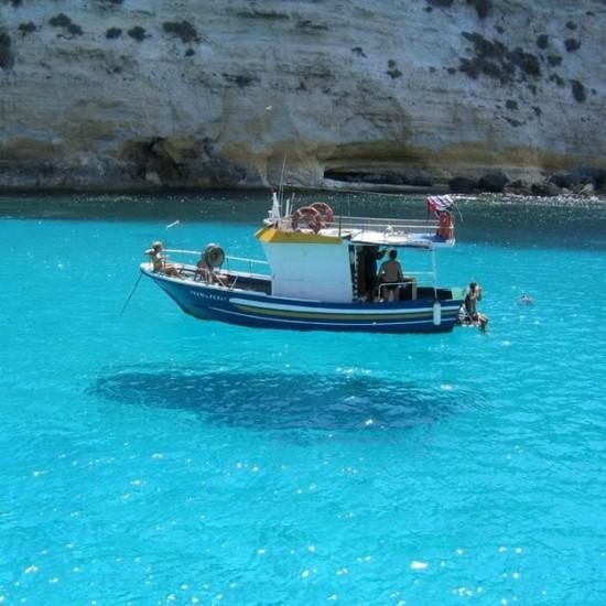 地中海に浮かぶ島ランペドゥーザ島5