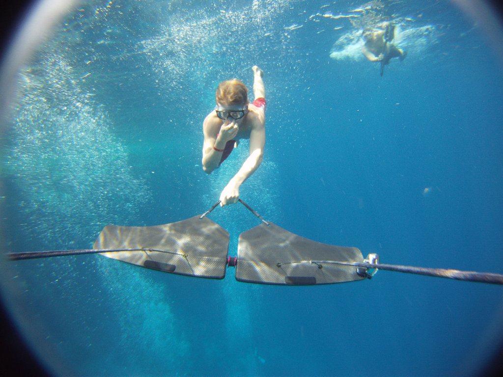 水の中のウェイクボード、サブウィング(Subwing)