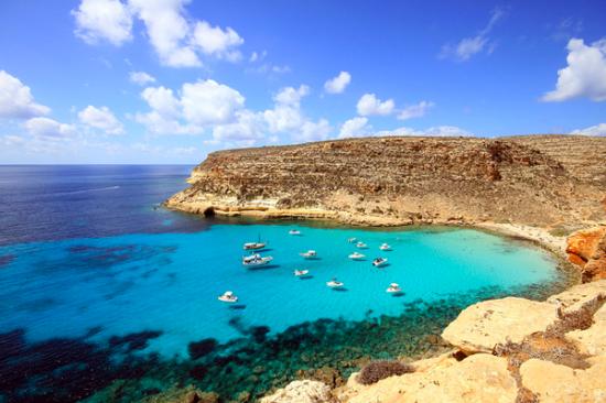 地中海に浮かぶ島ランペドゥーザ島4