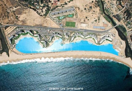 世界一大きなプールがあるホテル「サン·アルフォンソ·デル·マールリゾート」2