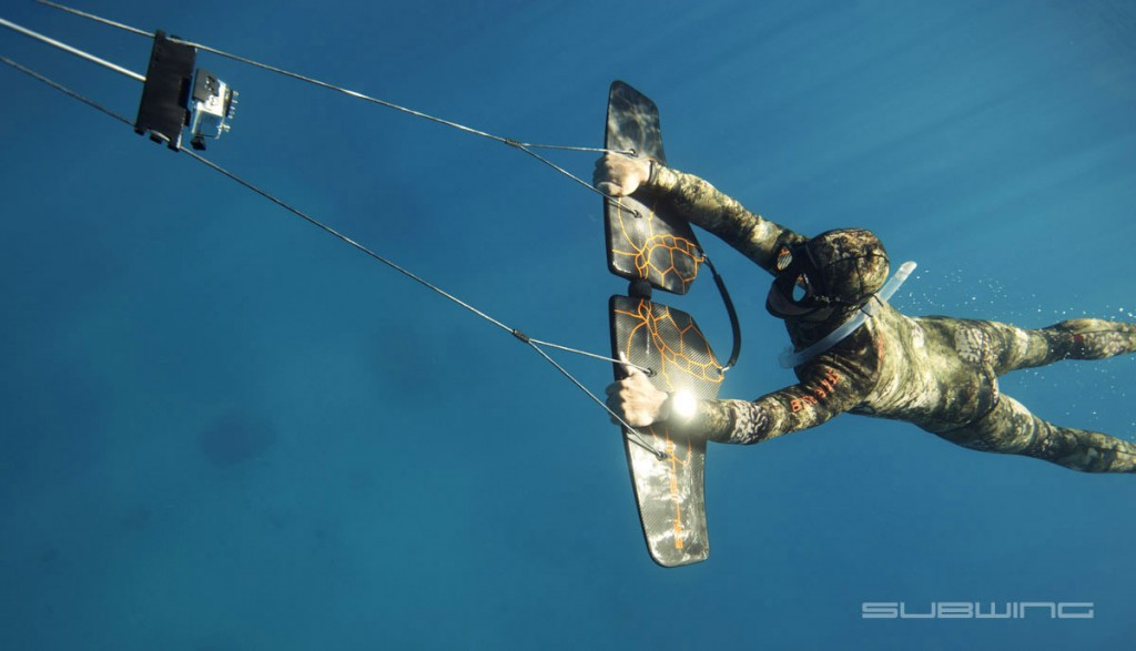 水の中のウェイクボード、サブウィング(Subwing)3