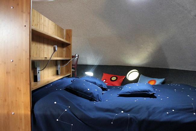 宇宙人が住んでいそうなUFOようなホテル5