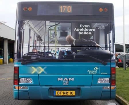 【世界の広告】バスを利用した広告10