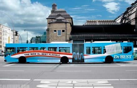 【世界の広告】バスを利用した広告12