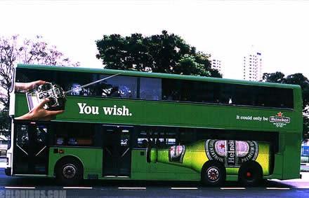 【世界の広告】バスを利用した広告15