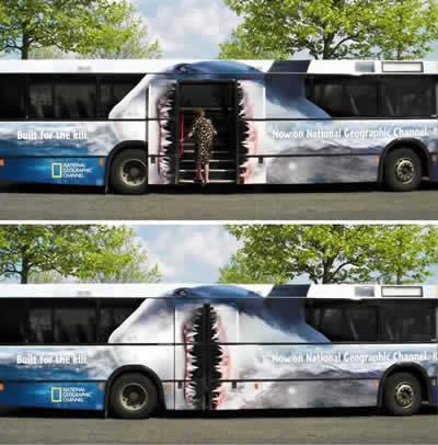 【世界の広告】バスを利用した広告4