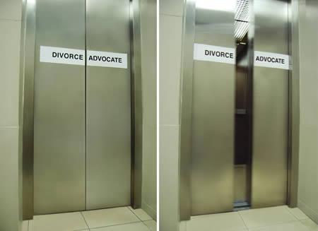 エレベーターを使った広告8