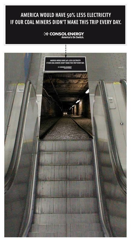 エレベーターを使ったユニークな広告4
