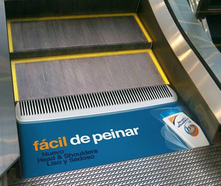エレベーターを使ったユニークな広告6