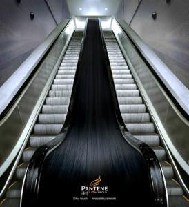 エスカレーターを使ったユニークな広告8