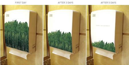 あっと驚くトイレの中の広告5