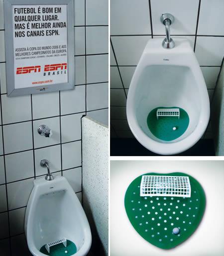 あっと驚くトイレの中の広告6