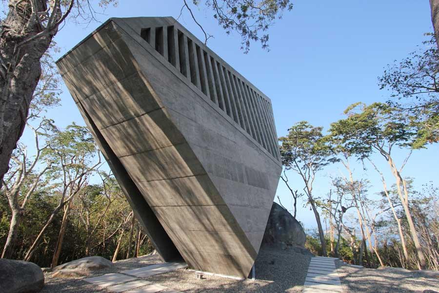 メキシコのアカプルコにある陽の沈む教会(チャペル)6