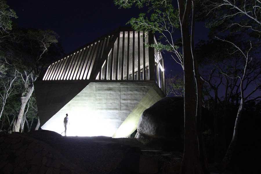 メキシコのアカプルコにある陽の沈む教会(チャペル)18