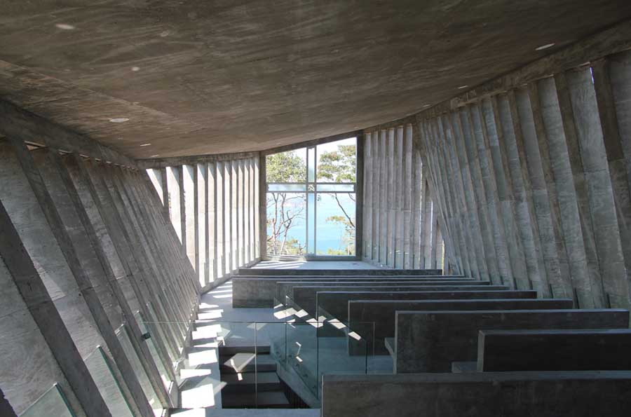 メキシコのアカプルコにある陽の沈む教会(チャペル)7