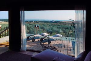 イタリアのトスカーナ地方中心部にラピアンタあるツリーハウス8