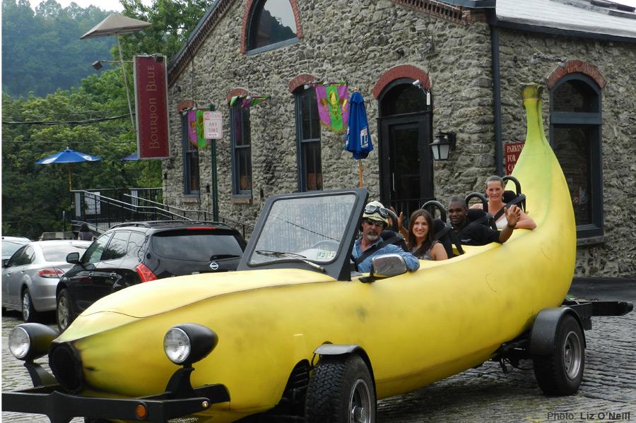 マリオカートに出てきそうな車バナナカート11