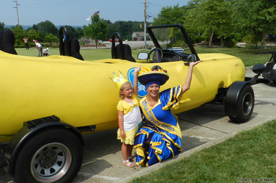 マリオカートに出てきそうな車バナナカート4