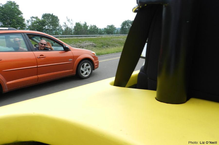 マリオカートに出てきそうな車バナナカート12