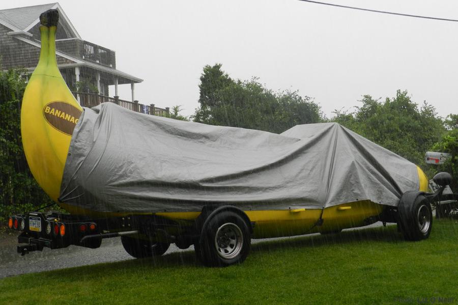 マリオカートに出てきそうな車バナナカート14
