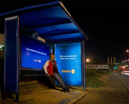 世界のかわったバスの停留所15