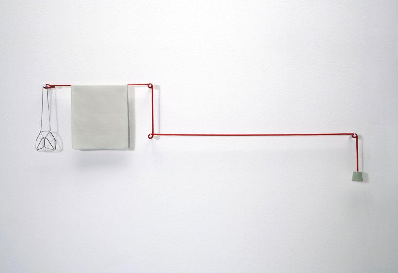 身近なものでつくることの出来るおしゃれなタオルハンガーのデザイン3