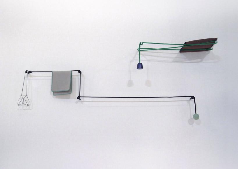 身近なものでつくることの出来るおしゃれなタオルハンガーのデザイン4