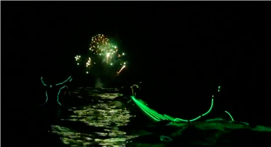 ボンダイビーチでのナイトサーフィン6