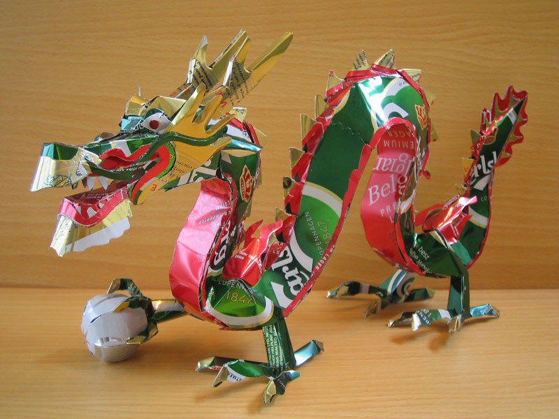 dragon-made-from-aluminum-cans-japanese-artist-makaon