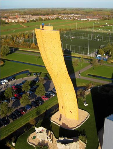 世界一高い人工クライミング施設「エクスカリバータワー」14