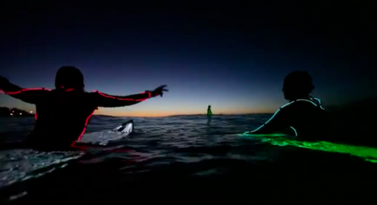 ボンダイビーチでのナイトサーフィン9