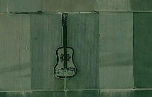 アルゼンチンにあるギターの形をした森林2