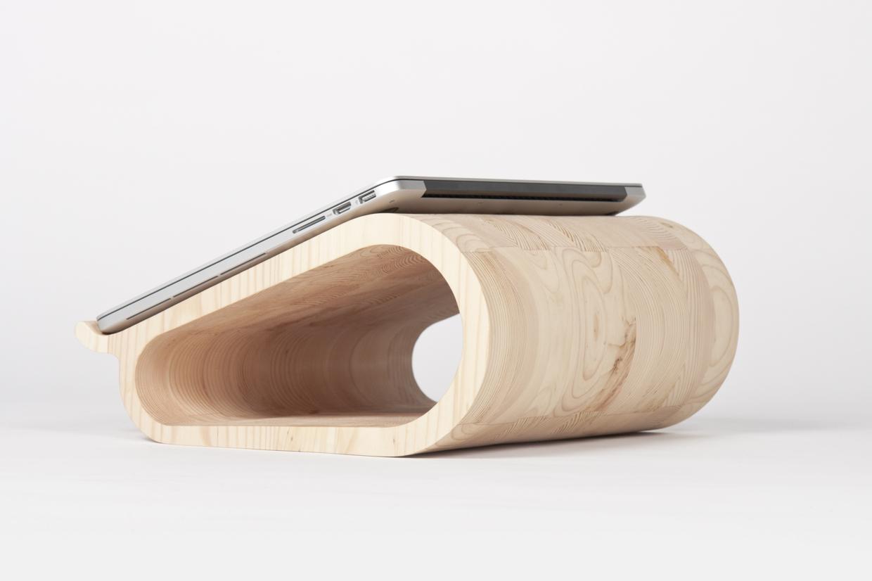 MacBookAirやMacBook Proに最適な木製のラップトップ9