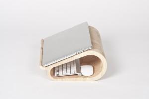 MacBookAirやMacBook Proに最適な木製のラップトップ8