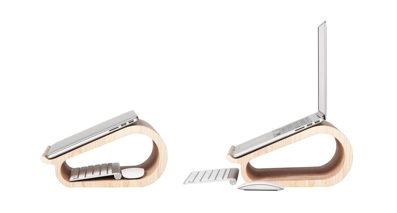 MacBookAirやMacBook Proに最適な木製のラップトップ7