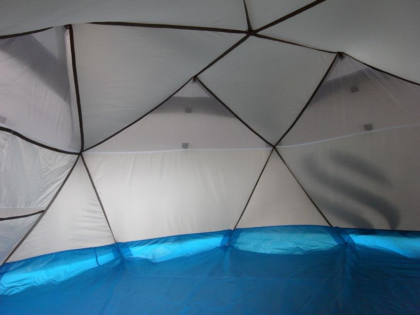たった1分で設置できるキャンプ用テントHeimplanetの「The Cave」5