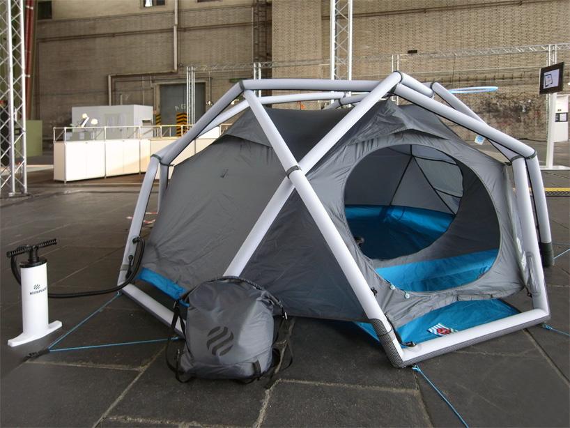たった1分で設置できるキャンプ用テントHeimplanetの「The Cave」1