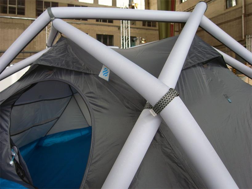 たった1分で設置できるキャンプ用テントHeimplanetの「The Cave」6