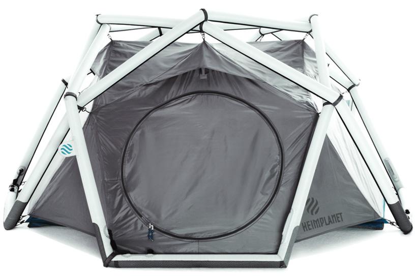 たった1分で設置できるキャンプ用テントHeimplanetの「The Cave」7