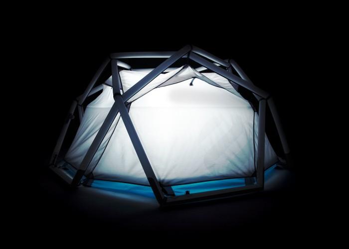 たった1分で設置できるキャンプ用テントHeimplanetの「The Cave」18