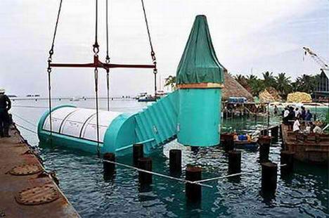 海中レストラン Ithaa Undersea2